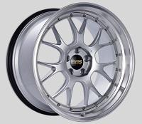 BBS LM-R 20x11 5x114.3 ET20 CB66 Diamond Silver Center Diamond Cut Lip Wheels