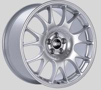 BBS CH 18x8.5 5x100 ET30 Diamond Silver Wheels -70mm PFS/Clip Required