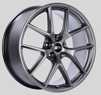 BBS CI-R 20x8.5 5x114.3 ET40 Platinum Silver Polished Rim Protector Wheels -82mm PFS/Clip Required