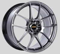 BBS RF 18x8 5x114.3 ET43 Diamond Black Wheels -82mm PFS/Clip Required