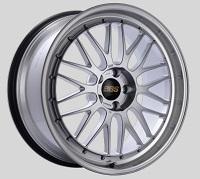 BBS LM 20x9.5 5x114.3 ET40 CB66 Diamond Silver Center Diamond Cut Lip Wheels