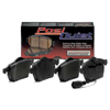 Centric Post Quiet Front Semi Metallic Brake Pads - Lancer Ralliart 2009+