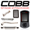 Cobb Tuning Stage 2 Power Package w/Oval Exhaust V3 - EVO X