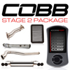 Cobb Tuning Stage 2 Power Package w/Quad Tip Exhaust V3 - EVO X