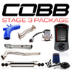 Cobb Tuning Stage 3 Power Package w/Quad Tip Exhaust V3 - EVO X