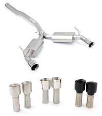 CP-E Mitsubishi Evo X Exhaust Austenite™ Dual Cat Back Exhaust