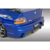 Ings+1 N-Spec FRP Rear Bumper - EVO 8/9