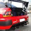 Rexpeed Carbon Fiber VA-Style Rear Diffuser - EVO 9 w/JDM rear bumper
