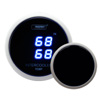 ProSport 52mm Digital Dual Intercooler Air Temperature Gauge Blue