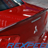 Rexpeed Duckbill Trunk Spoiler w/Carbon Strip - EVO X / Ralliart