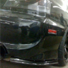 Rexpeed Carbon Fiber Rear Bumper Extension Set - EVO 8/9