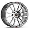 "Enkei GTC01 Hyper Black 18"" Rims Set (4) - Lancer Ralliart 2009+"