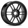"Enkei RPF1 Black 17"" Rims Set (4) EVO 8/9"