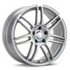 "Enkei SC05 Bright Silver 18"" Rims Set (4) EVO 8/9"