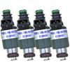 FIC 750cc Injector Set (Low-Z) - EVO 8/9