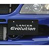 Mitsubishi OEM Front License Plate Mounting Bracket Kit - EVO 9