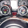 Rexpeed Carbon Fiber Steering Wheel Dual Gauge Pod - EVO X