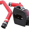 K&N Typhoon Short Ram Intake System  Wrinkle Red - EVO X