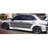 Bay Speed Aero VT Style Wide Body Rear Quarter Panels - EVO 8/9