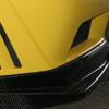 Rexpeed Carbon Fiber V-Style Front Lip - EVO 7