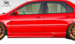Extreme Dimensions Duraflex I-Spec Side Skirts Rocker Panels - 2 Piece - Evo 8/9
