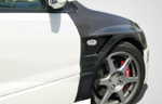 Extreme Dimensions Carbon Creations Vented Fenders - 2 Piece - Evo 8/9