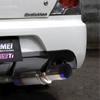 Tomei Expreme Titanium Cat Back Exhaust - EVO 8/9 w/JDM Bumper