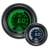 ProSport EVO Series 52mm Electric Fuel Pressure Gauge Green/White