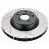 DBA Rear Slotted 4000 Series Rotors - 2008-2014 EVO X