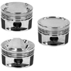 Manley 86mm +1mm Over Bore 100mm Stroke 8.5:1 Dish Pistons w/ Rings - EVO 8/9