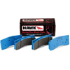 Hawk Blue 9012 Track Only Front Brake Pads - Lancer Ralliart 2009+