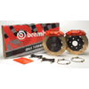 Brembo GT 328mm 4-Piston Rear Big Brake Kit (2-piece Drilled Rotors) EVO 8/9