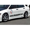 ChargeSpeed Side Skirts (Pair) EVO 8