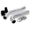 AGP Polished Aluminum Hot Pipe - EVO X