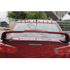 Rexpeed Painted Red Vortex Generator - EVO X MR/Lancer Ralliart 2009+