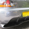 Rexpeed Carbon Fiber Rear Diffuser - Voltex Style - JDM EVO 9