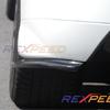Rexpeed Carbon Fiber Rear Bumper Extension - JDM EVO 9