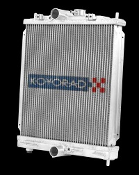 Koyo 2003-2006 Mitsubishi Evolution 7/8/9 Turbo (MT) Half-Size RACE Radiator
