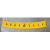 Rexpeed Vortex Generator Lightning Yellow - EVO 8/9