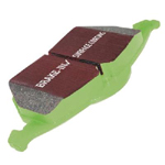 EBC Front Brake Pads Green Stuff 2000 Series - Lancer Ralliart
