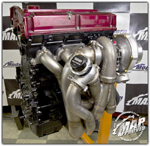 MAPerformance V-Band Inlet Top Mount Turbo Kit - Evo 8/9