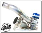MAPerformance Comp-Gate40 External Wastegate O2 Housing - Evo 8/9