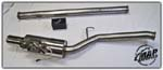 MAPerformance Catback Exhaust System with Varex Muffler - Evo 8/9