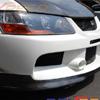 Rexpeed MR SE Carbon Fiber Front Lip Splitter - EVO 9
