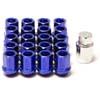MXP X-Dura Lug Nuts - Blue 1.5mm