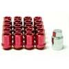 MXP X-Dura Lug Nuts - Red 1.5mm