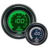 ProSport EVO Series 52mm Electric Oil Pressure Gauge Green/White