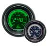 ProSport EVO Series 52mm Electric Oil Temperature Gauge Green/White