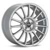 """O.Z Superturismo LM Silver 19"""" Rims Set (4) EVO X"""