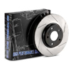 StopTech Power Alloy Rear Slotted Rotors - Lancer Ralliart 2009+